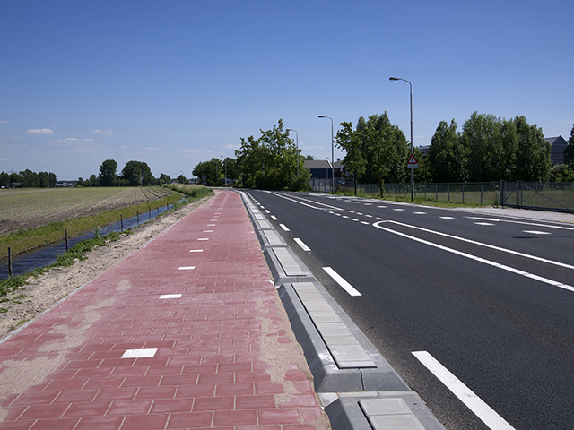 New bike path, Haarlem to Leiden